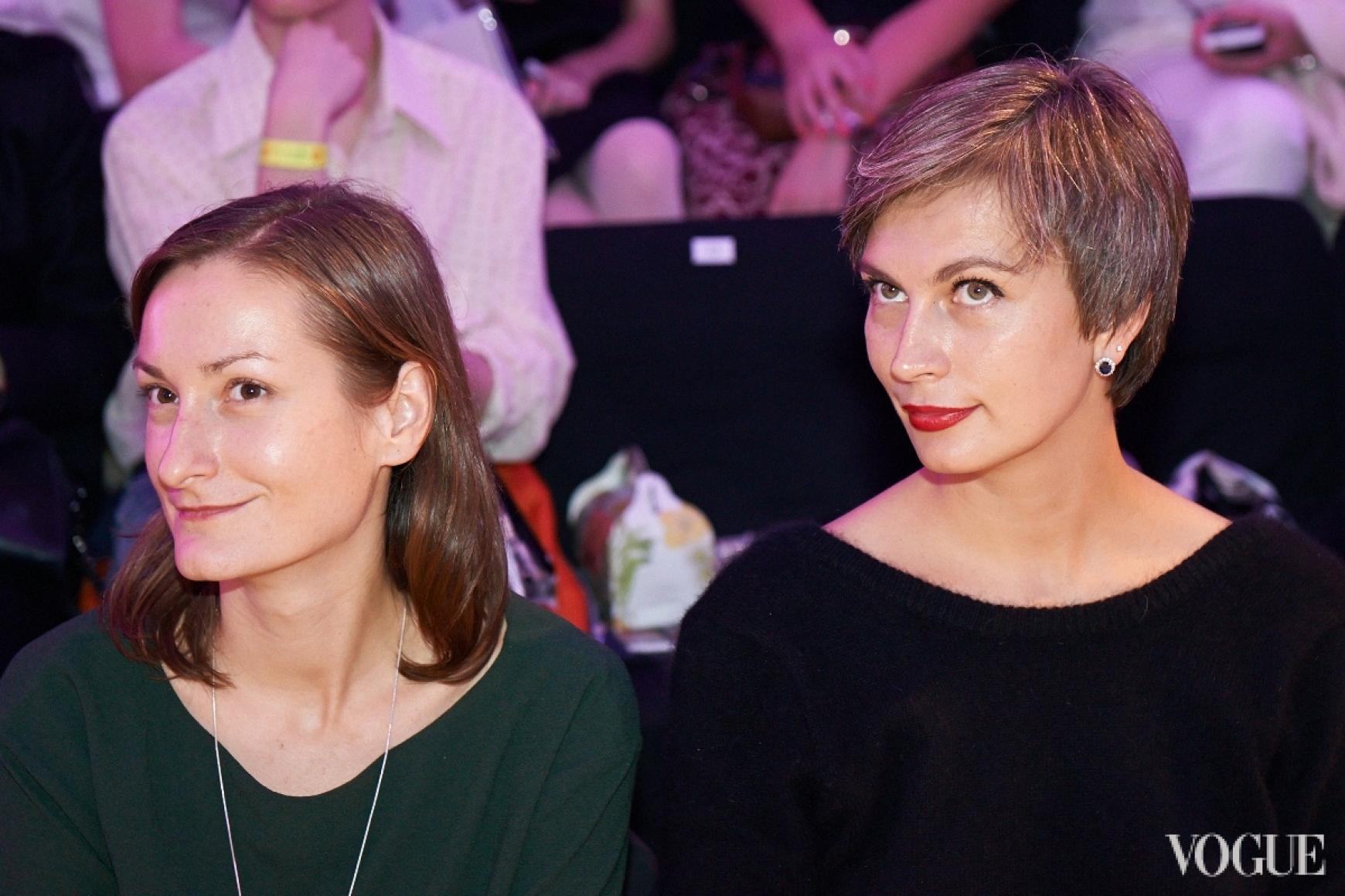 Татьяна Соловей и Маша Цуканова