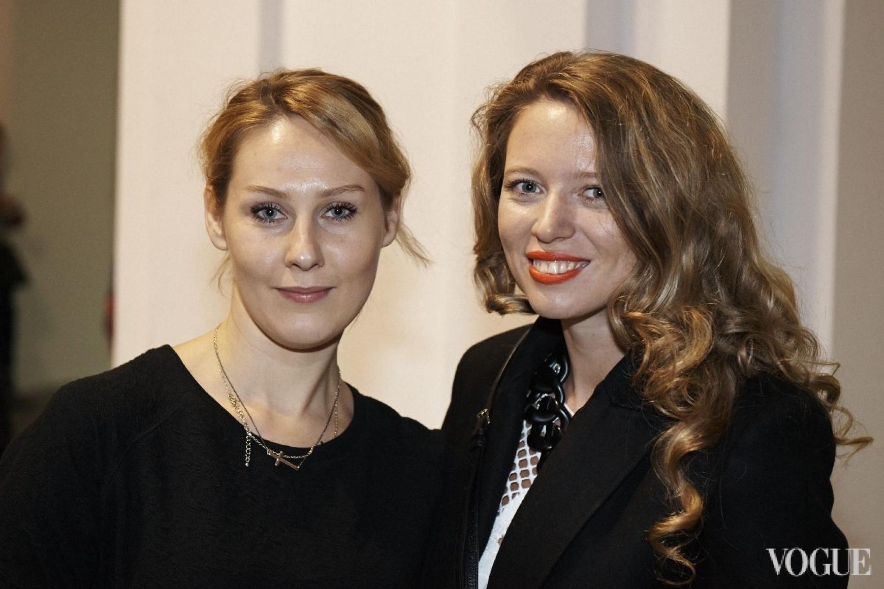 Наталья Васюра и Ксения Карпенко