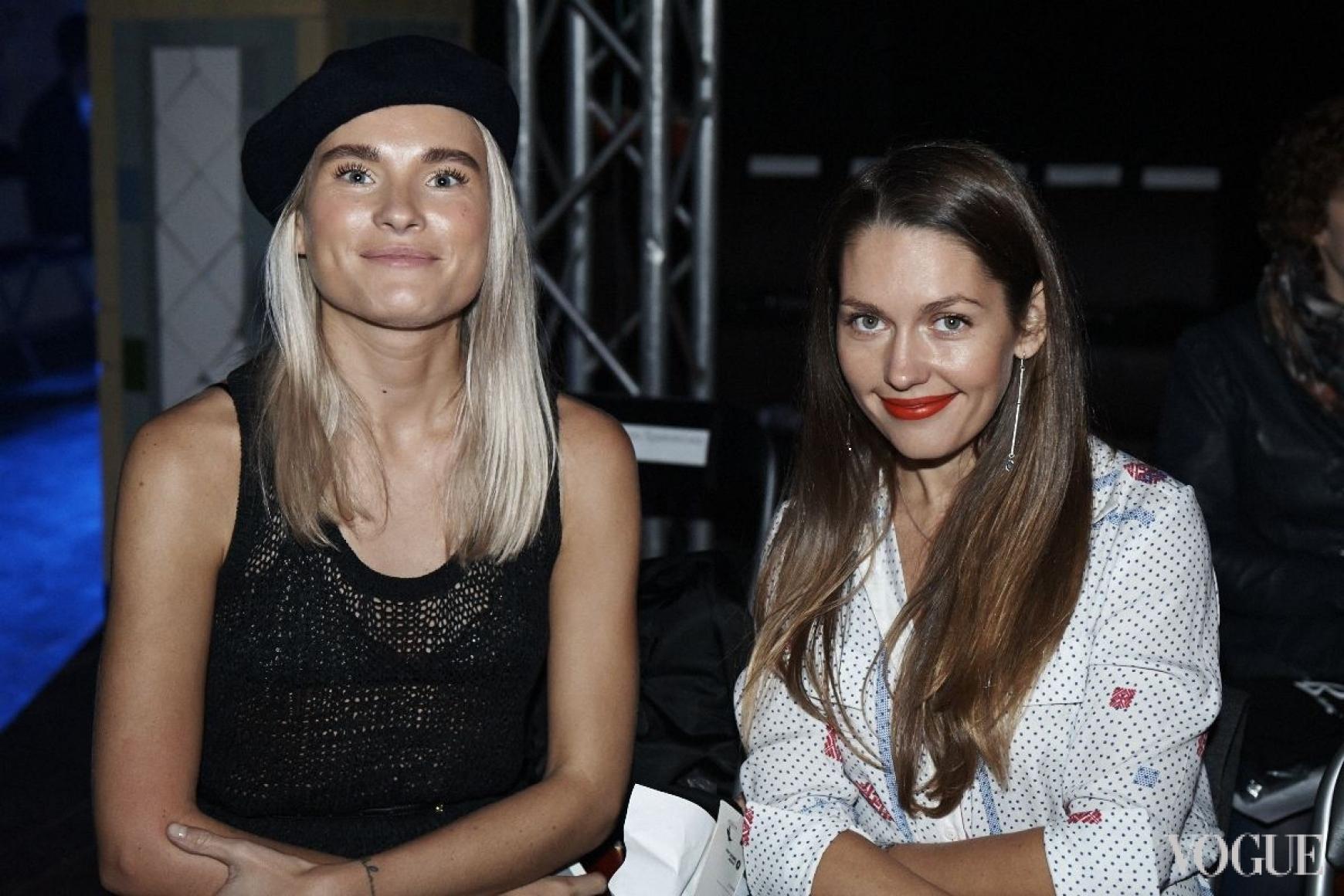 Валентина Грищенко (слева)