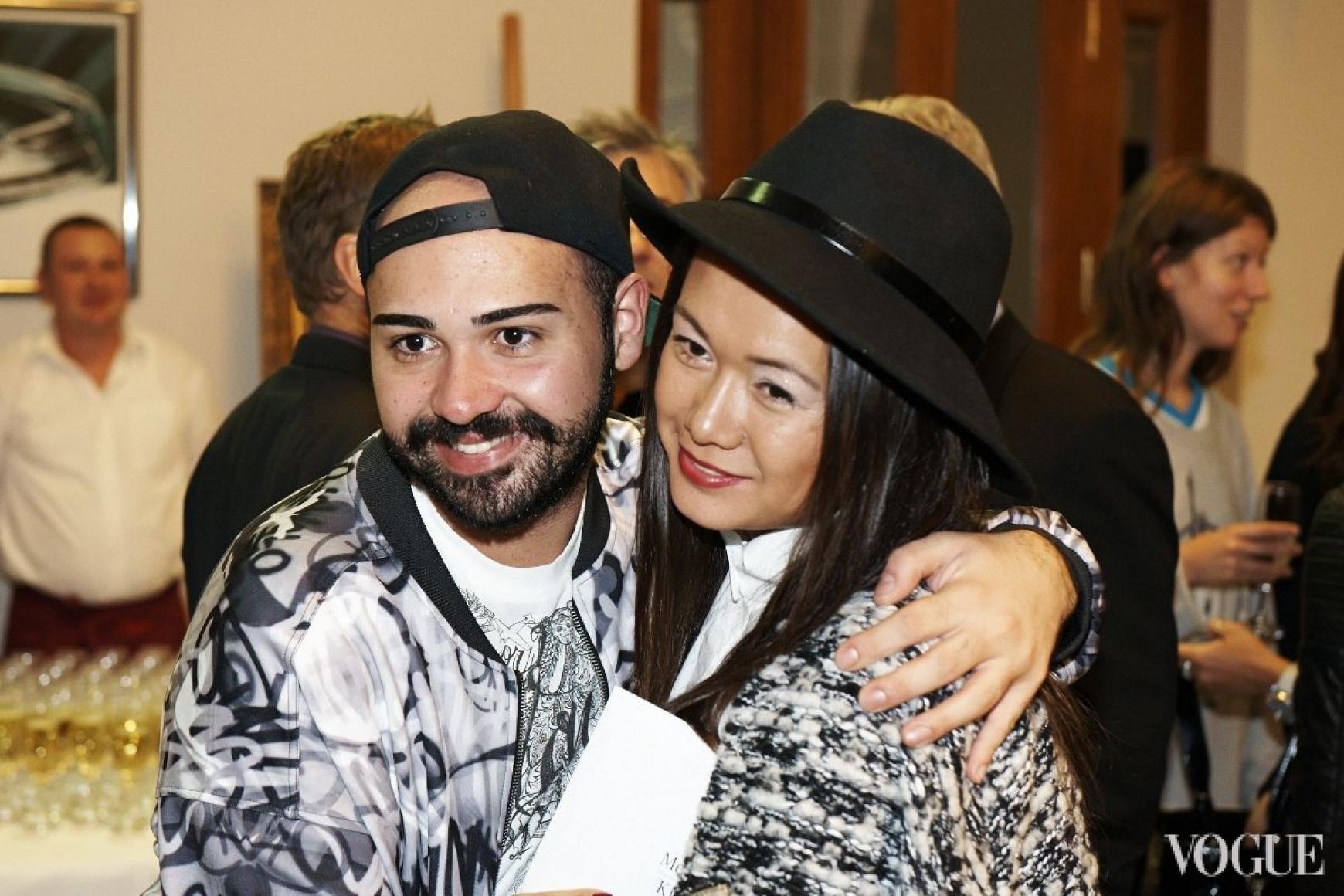 Бичолла Тетрадзе и Лида Петрова