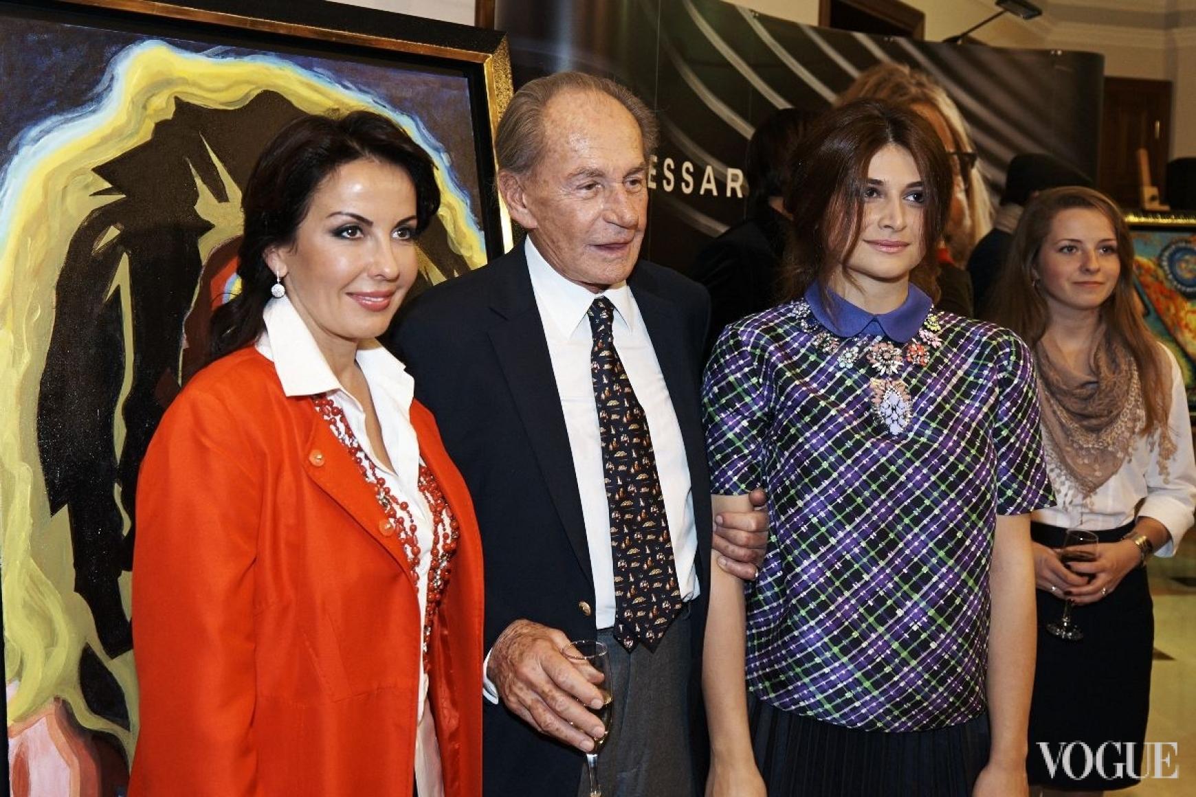 Пал Саркози и Нина Васадзе