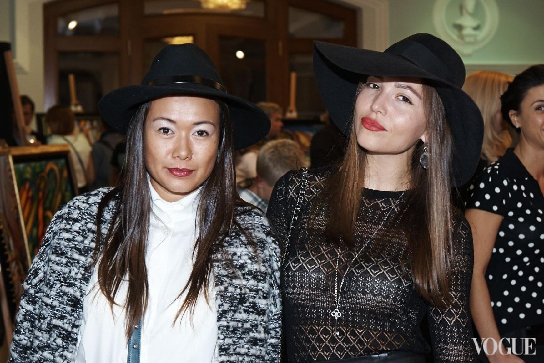 Лида Петрова и Мария Яслинская