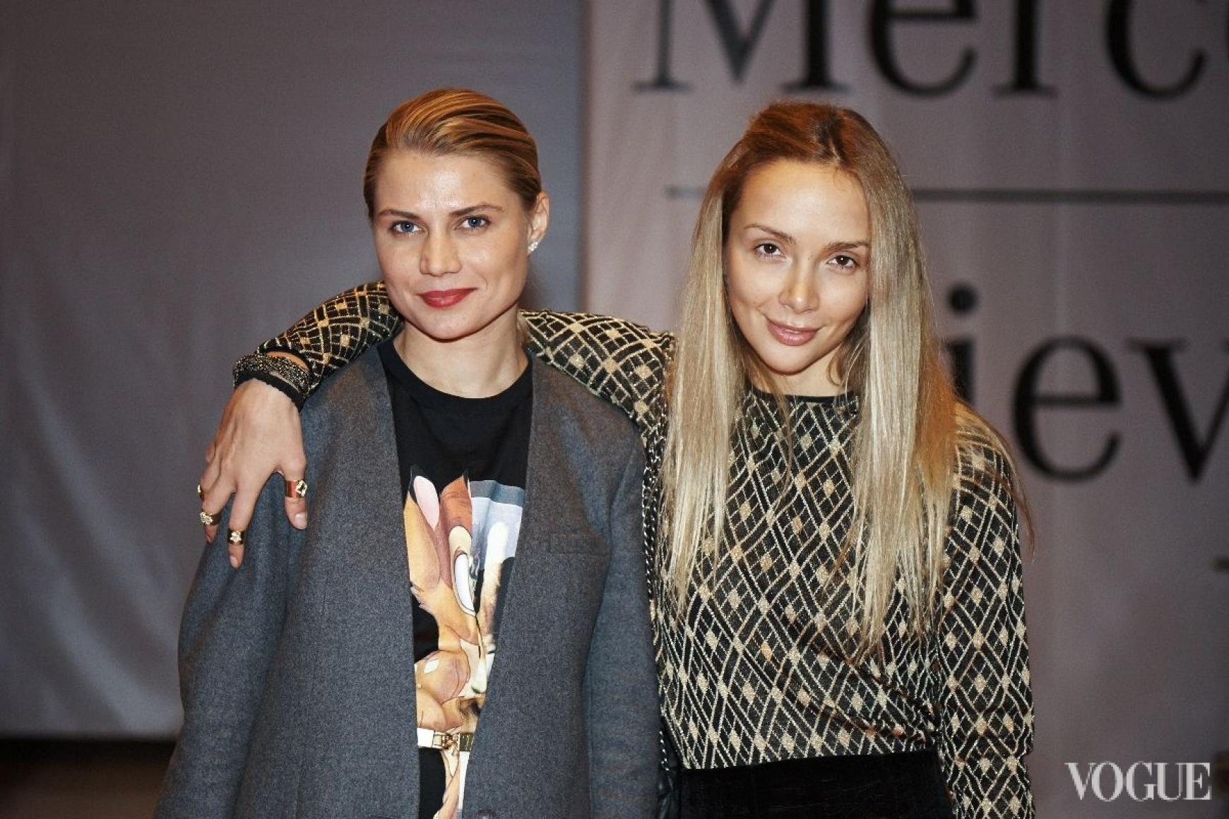Юлия Богдан и Алена Беттяр