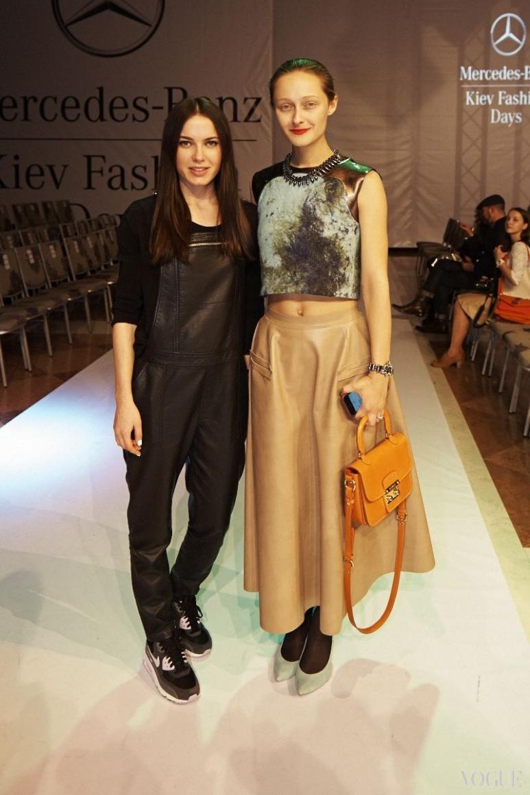 Яся Миночкина и Дарья Шаповалова