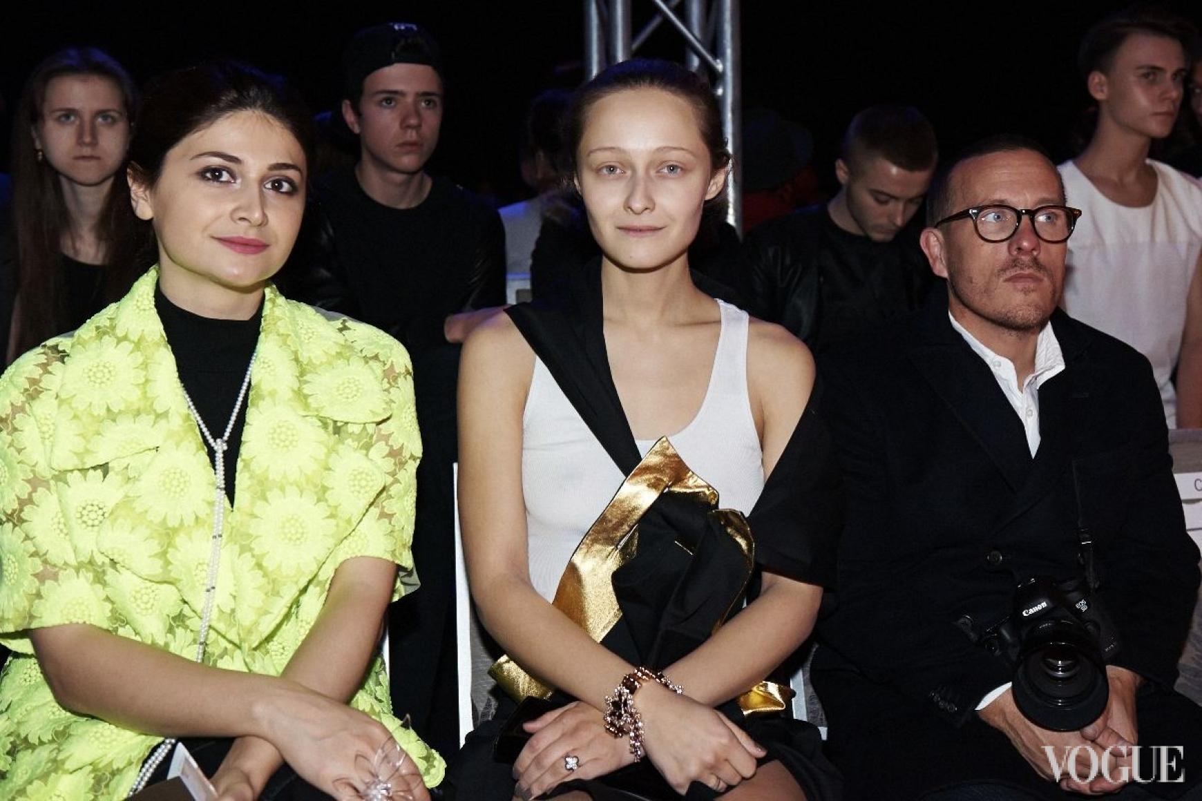 Нина Васадзе, Дарья Шаповалова и Скотт Шуман
