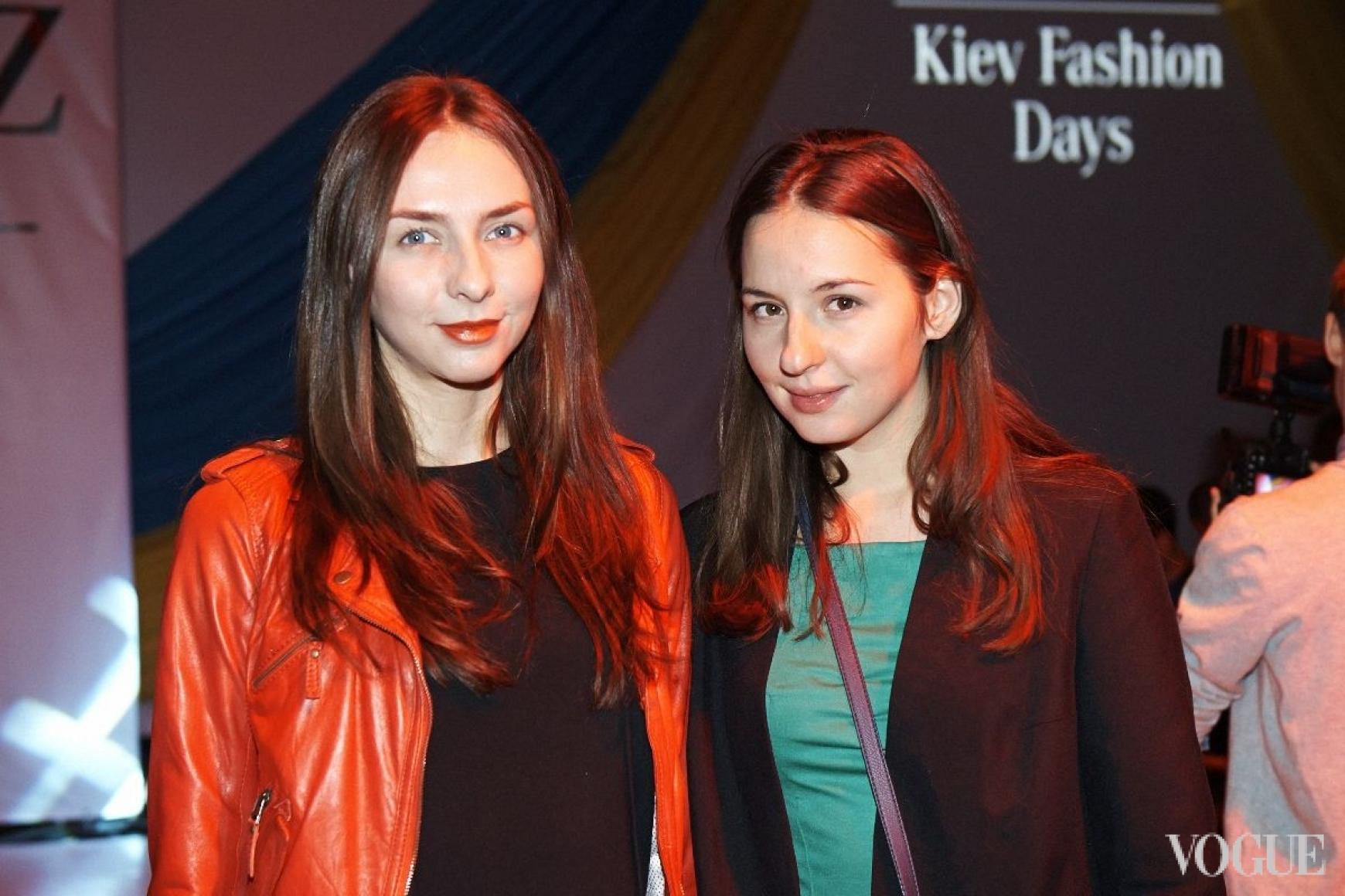 Виктория Пинхасова и Виолетта Федорова