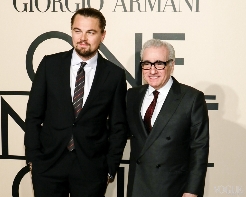 Леонардо ДиКаприо и Мартин Скорсезе