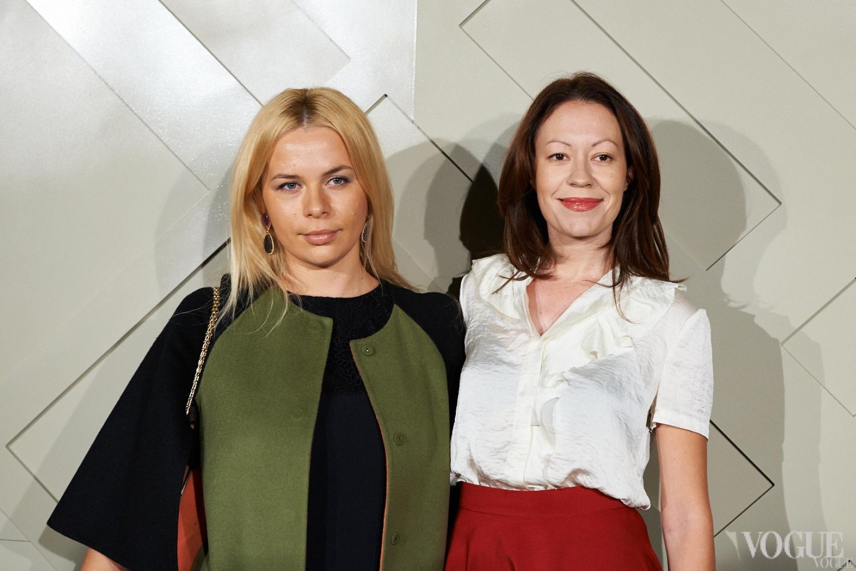 Ирина Тимофеева (справа)