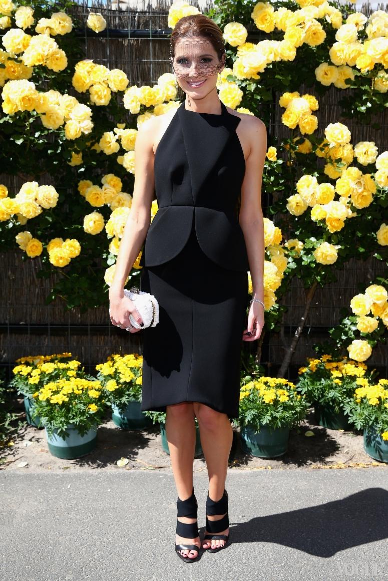 Кейт Уотерхаус в платье Balenciaga Fall 2013