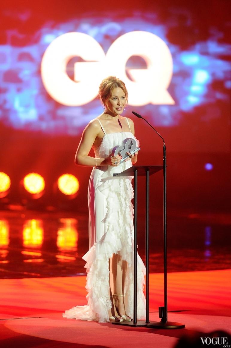 Кайли Миноуг в платье Nina Ricci