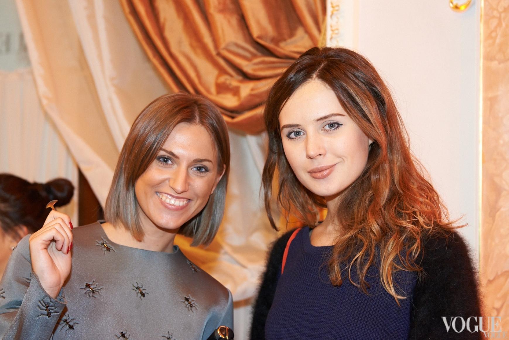 Александра Андрущенко и Катя Марьяш