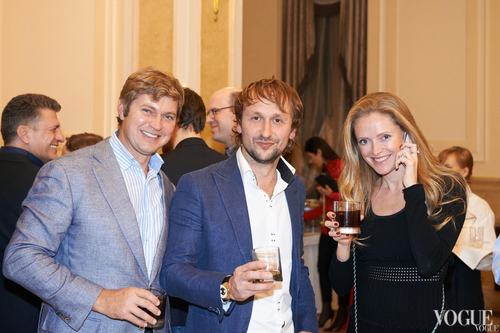 Игорь Франчук (слева), Юлия Польская