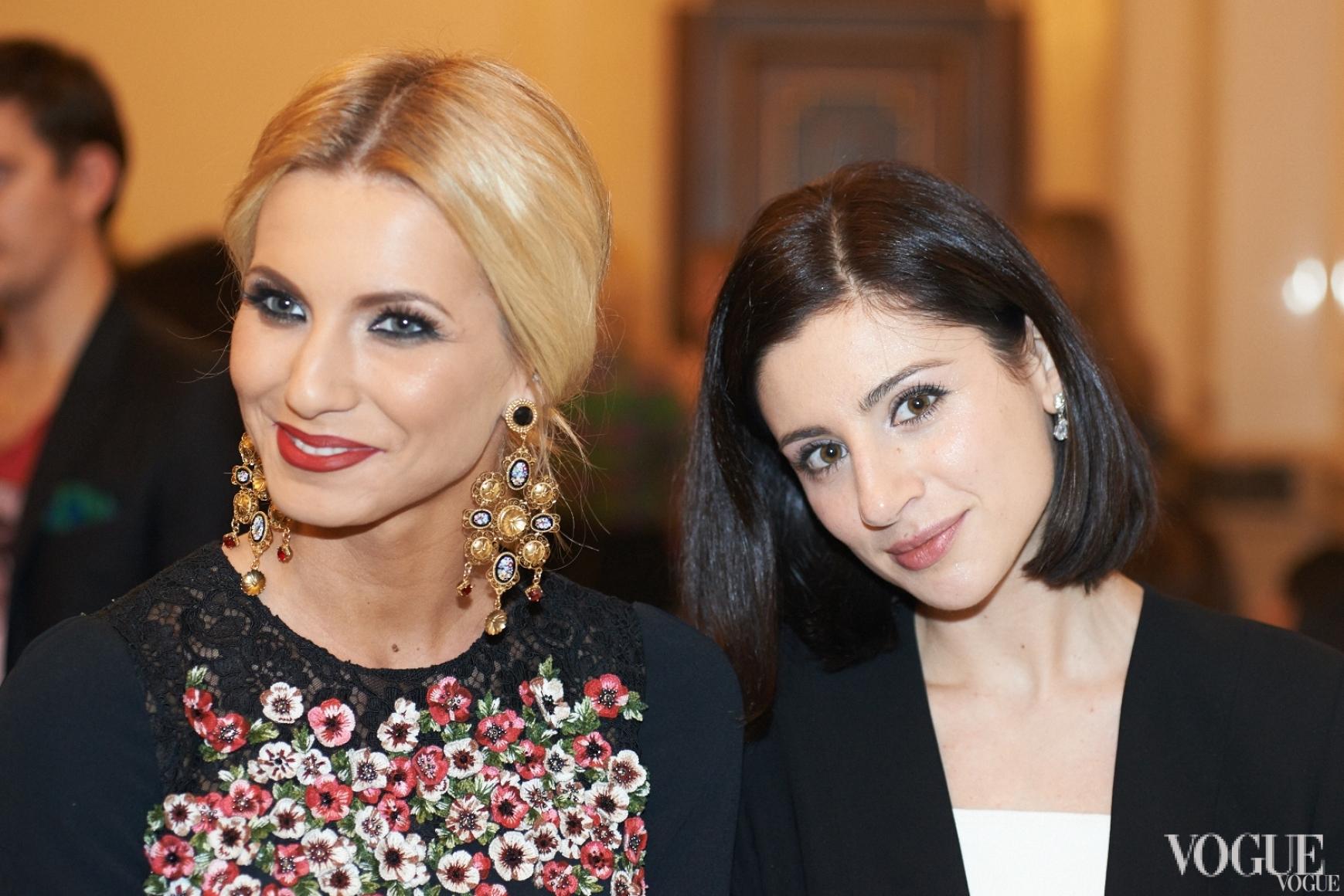Елизавета Юрушева и Светлана Бевза