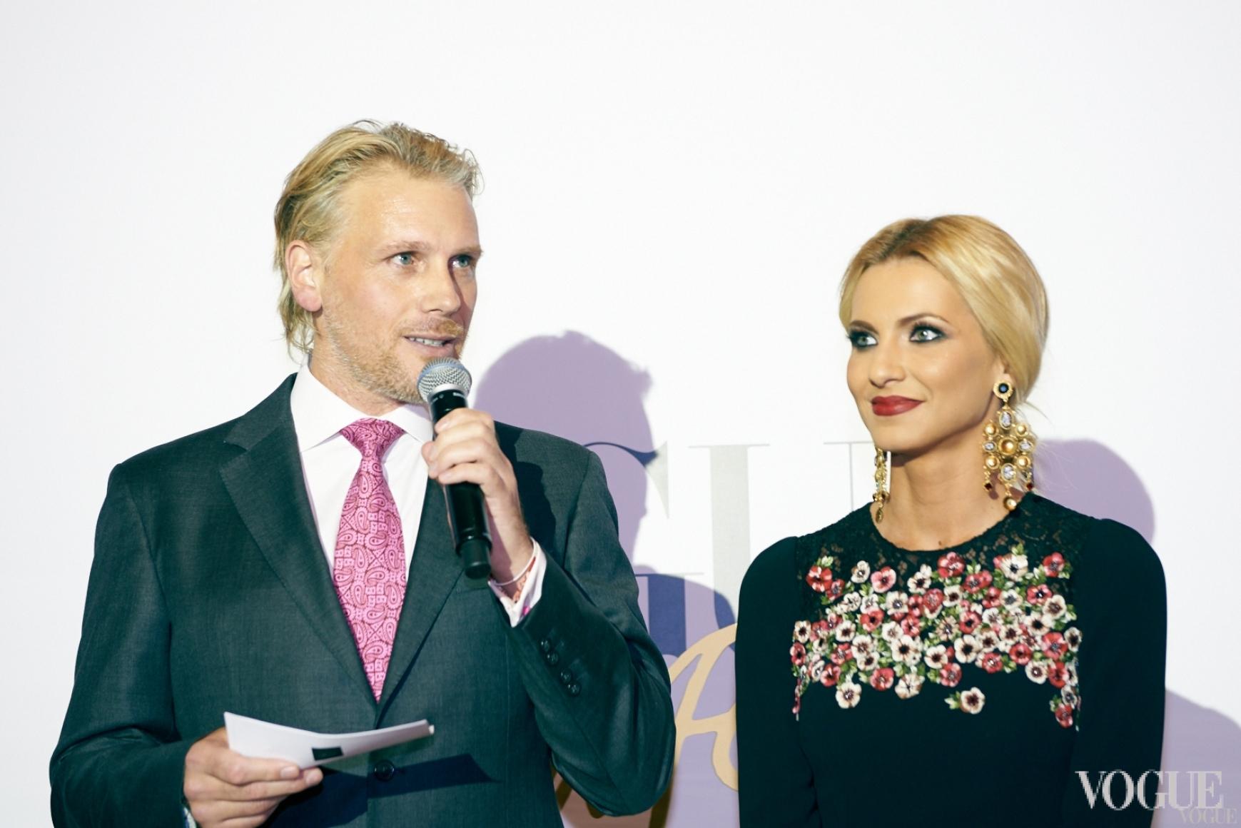 Гари Робинсон и Елизавета Юрушева