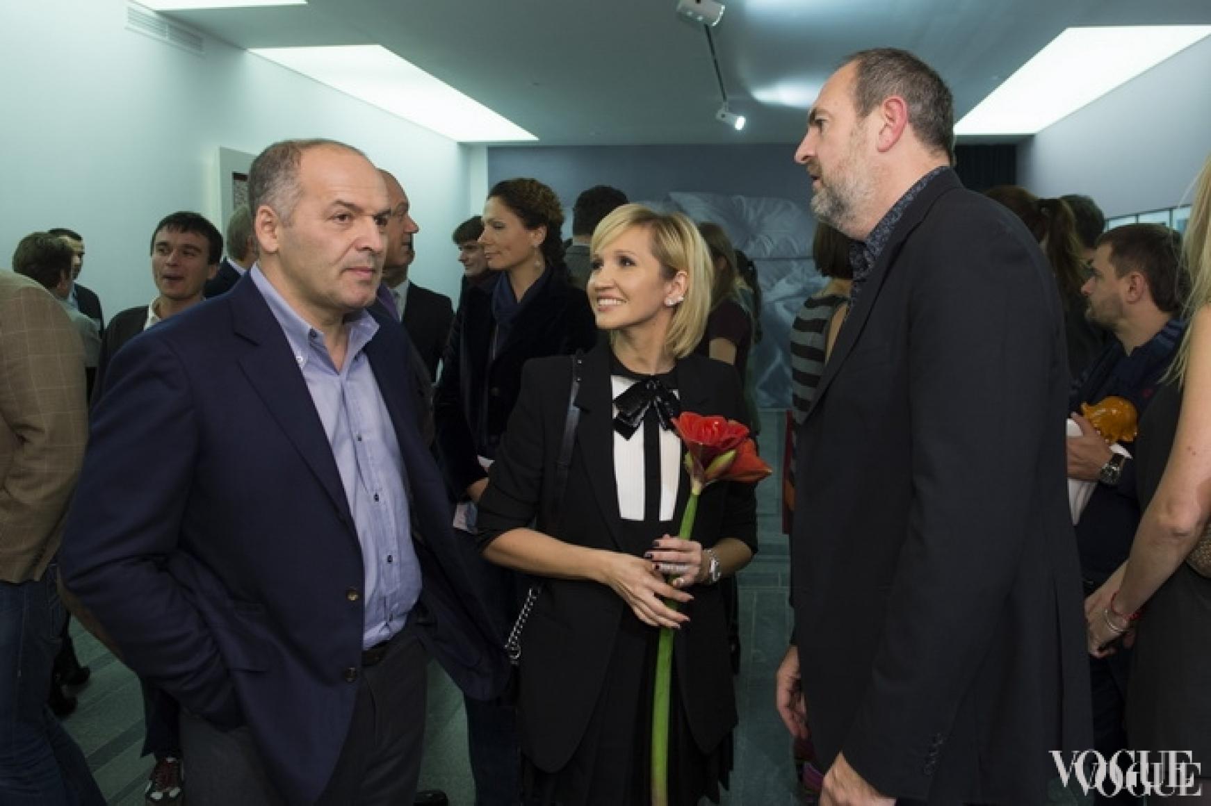 Владимир и Елена Пинчук, Саймон Притерч