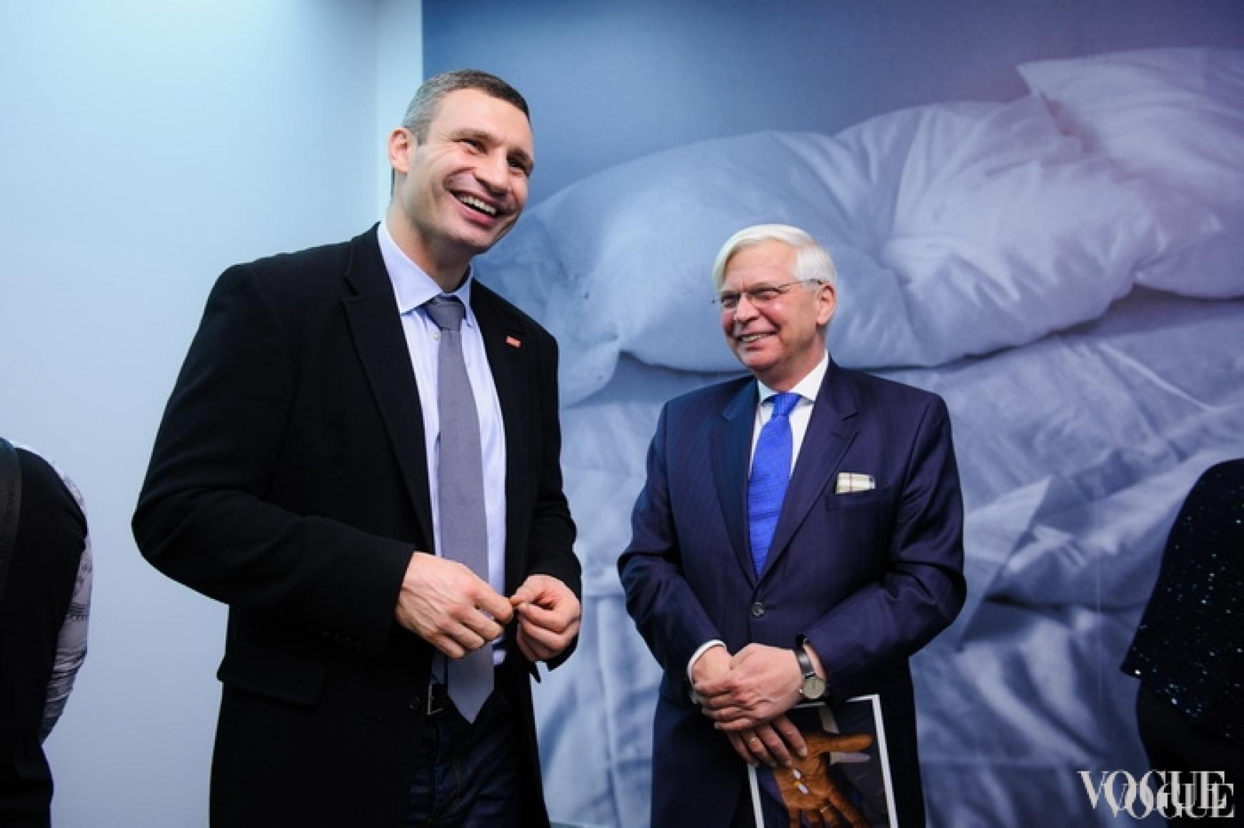 Виталий Кличко, доктор Кристоф Вайль