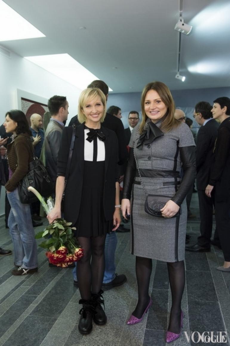 Елена Пинчук и Ирена Кильчицкая