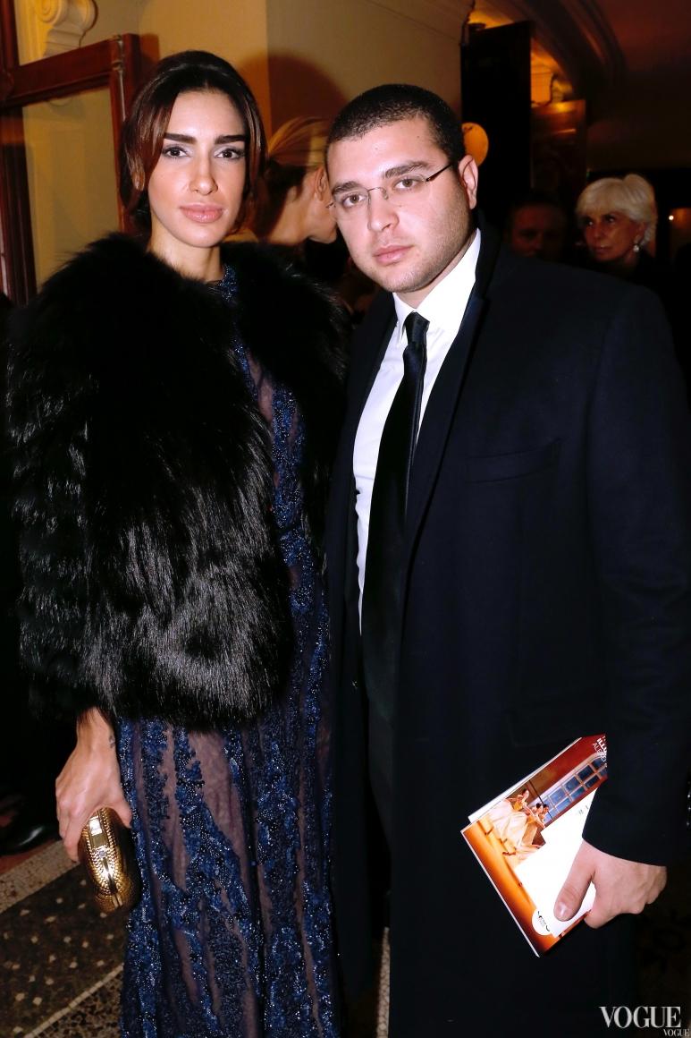 Эли Сааб-младший с супругой