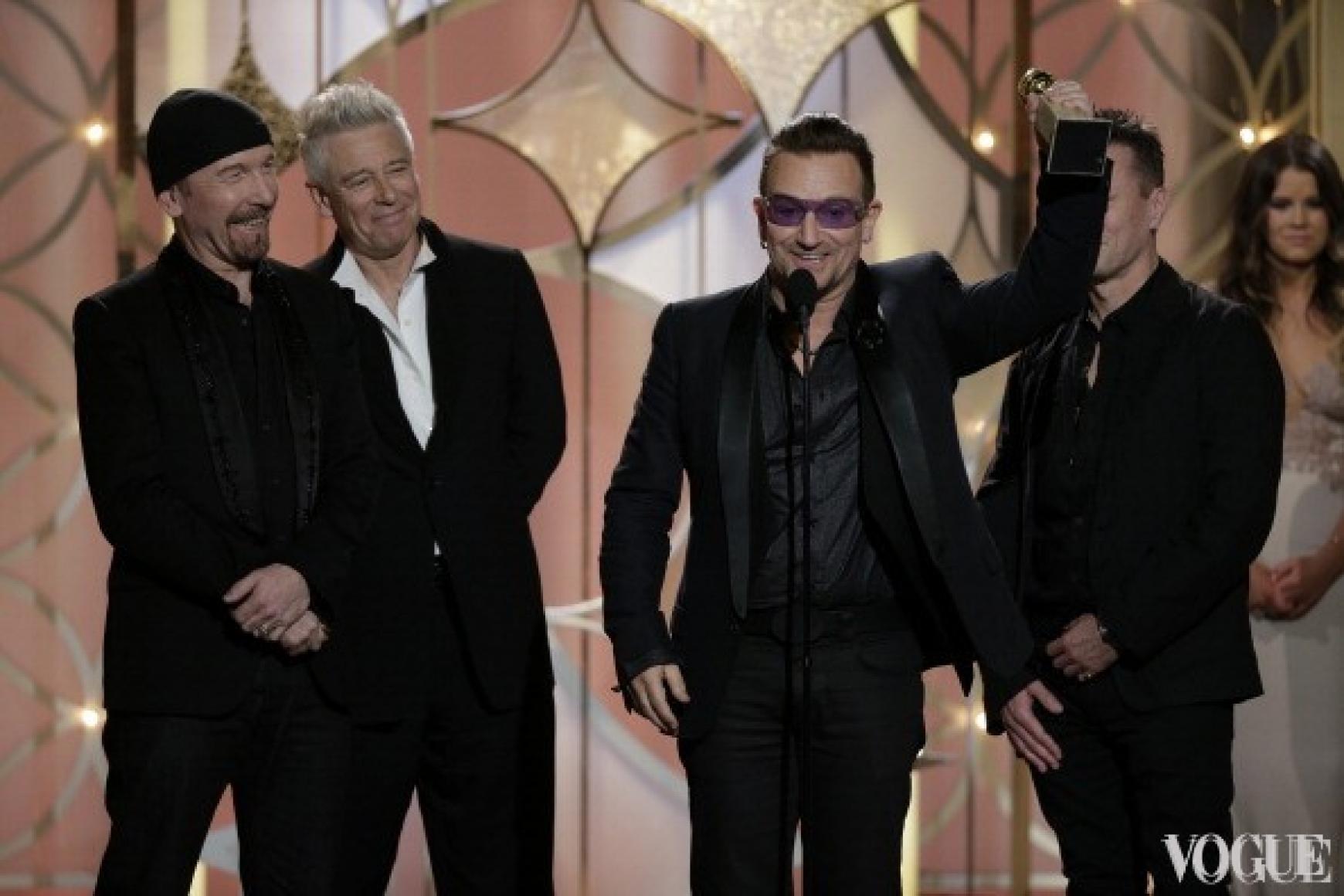 The Edge, Адам Клейтон, Боно и Ларри Клейтон