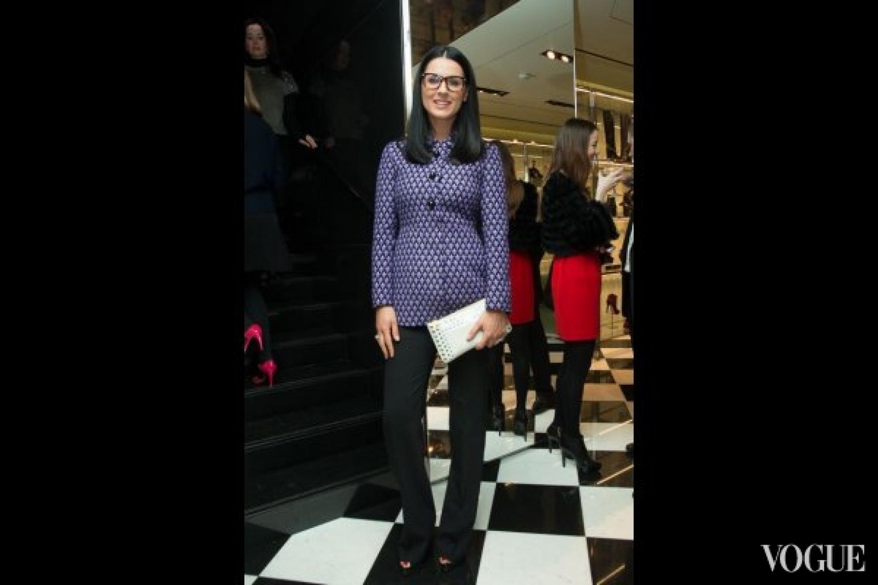 Маша Ефросинина в Prada