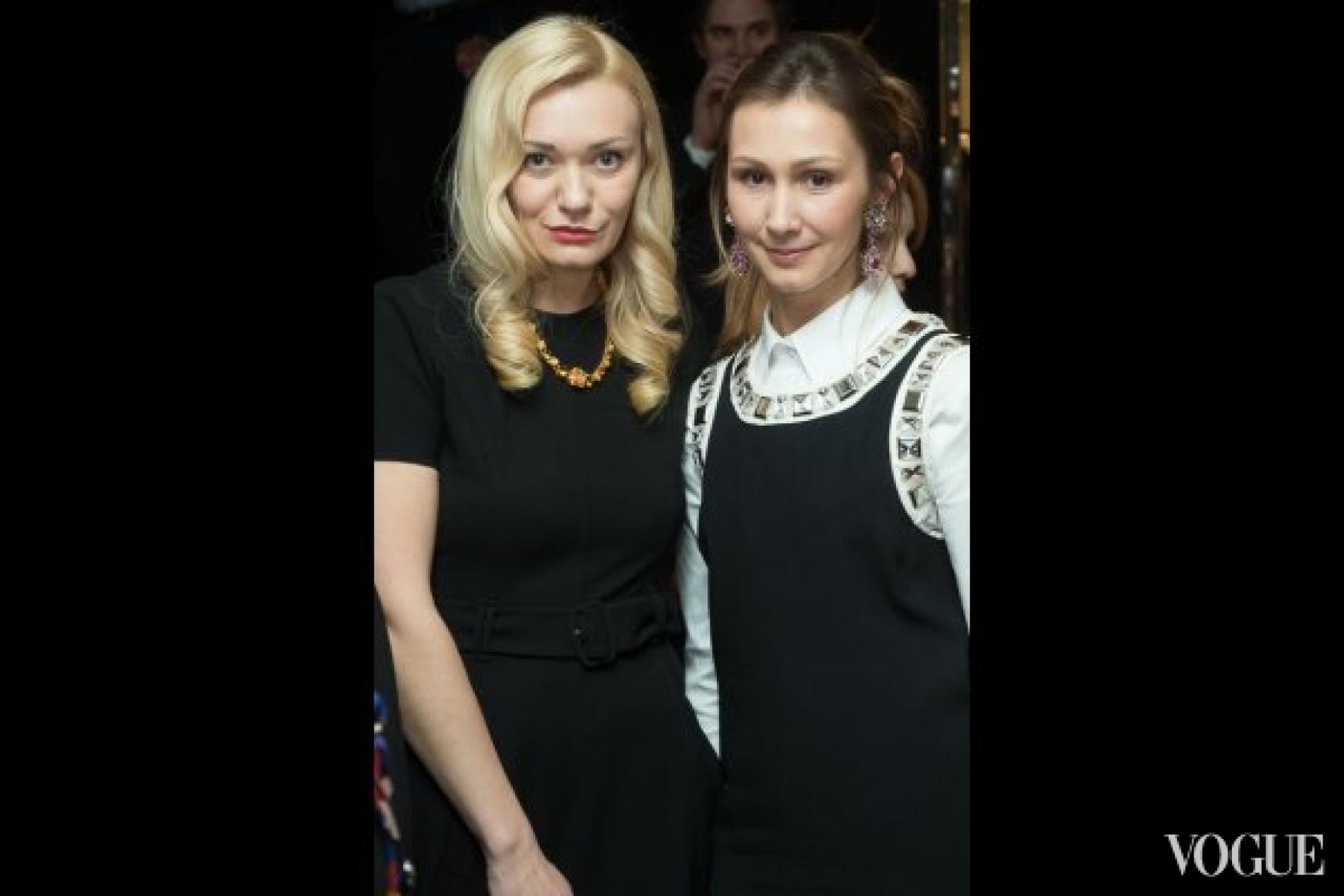 Ирина Ковальчук (слева)