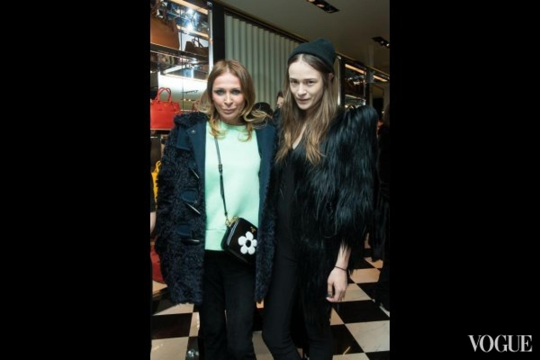 Вита Кин и Надя Шаповал