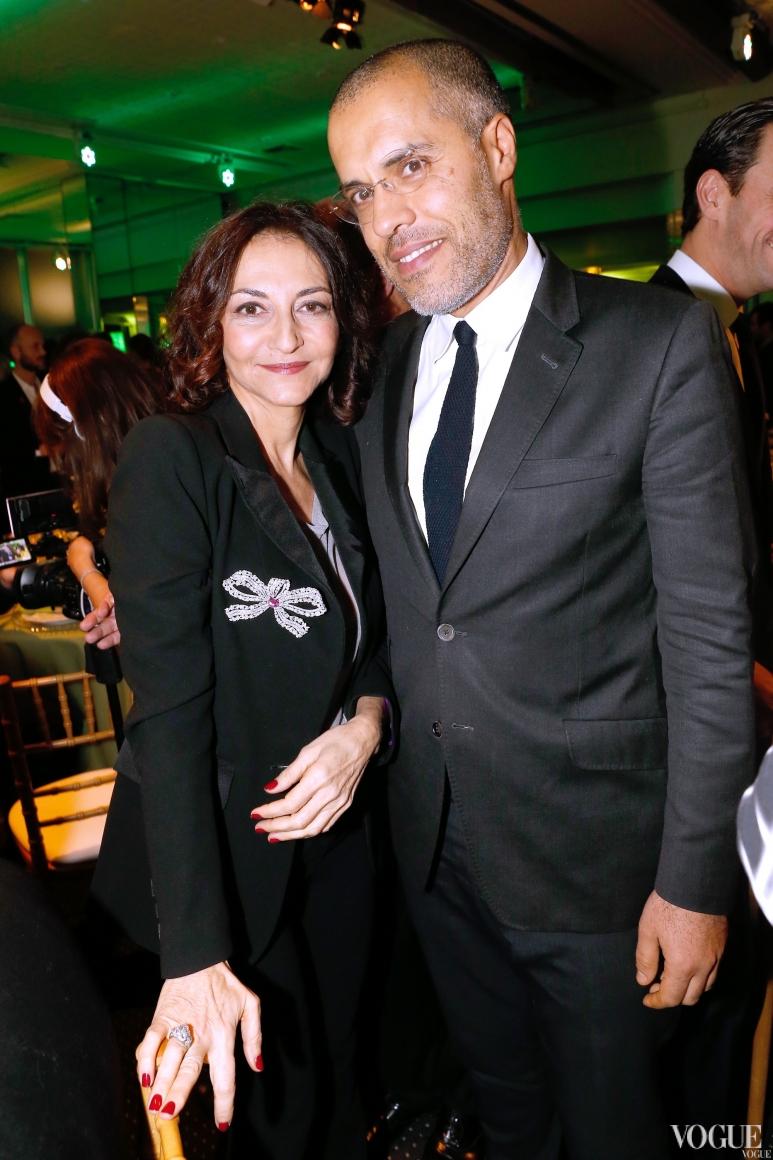 Натали Рикель и Кэмел Менуар