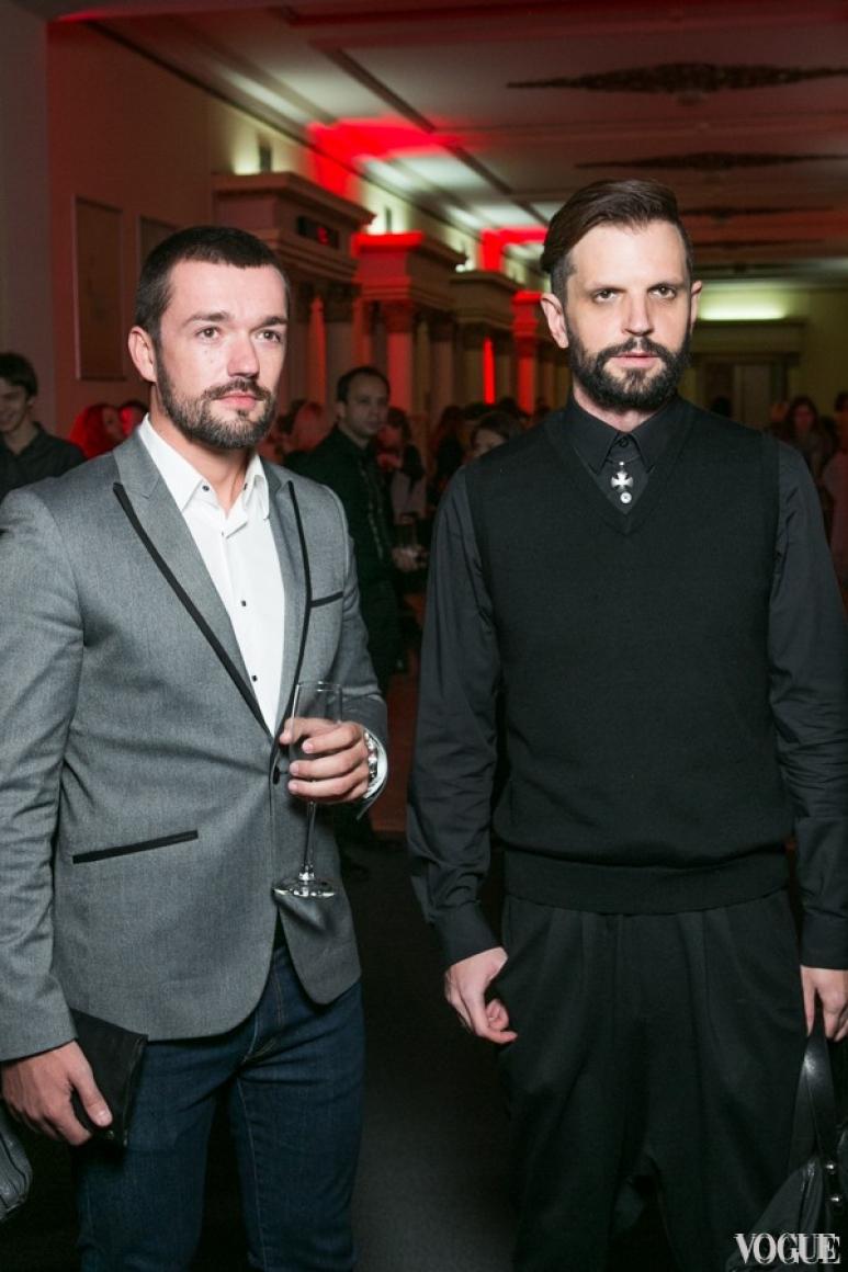 Алексей Гладушевский (справа)