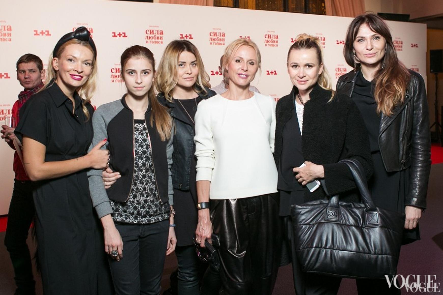 Полина Неня, Соня и Светлана Евдокименко, Елена Примак, Татьяна Рамус, Ольга Слонь