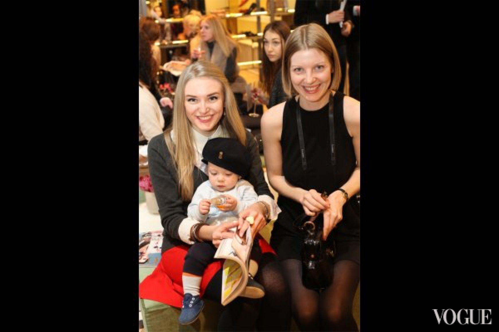 Лиза Краснова и Кристина Ефимович
