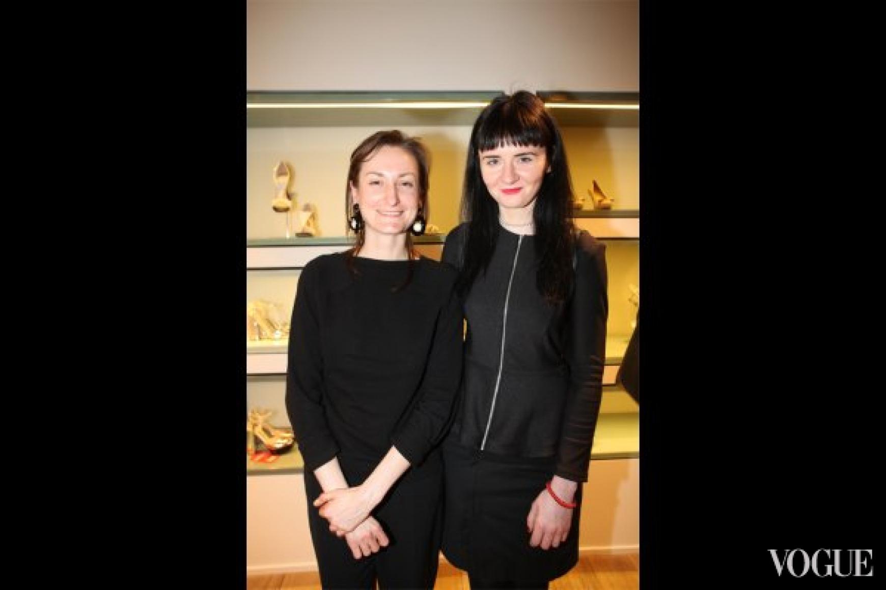 Татьяна Соловей и Ольга Януль