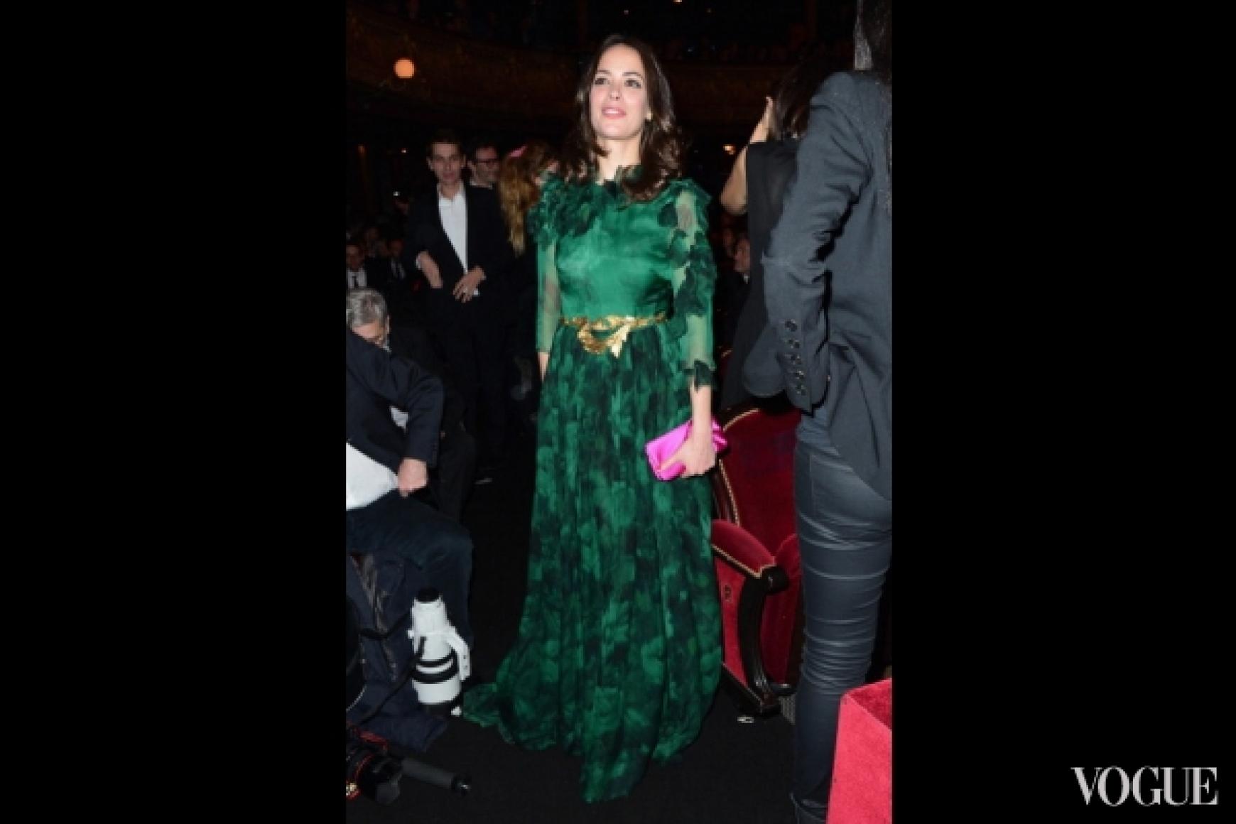 Беренис Бежо в платье Giambattista Valli Couture