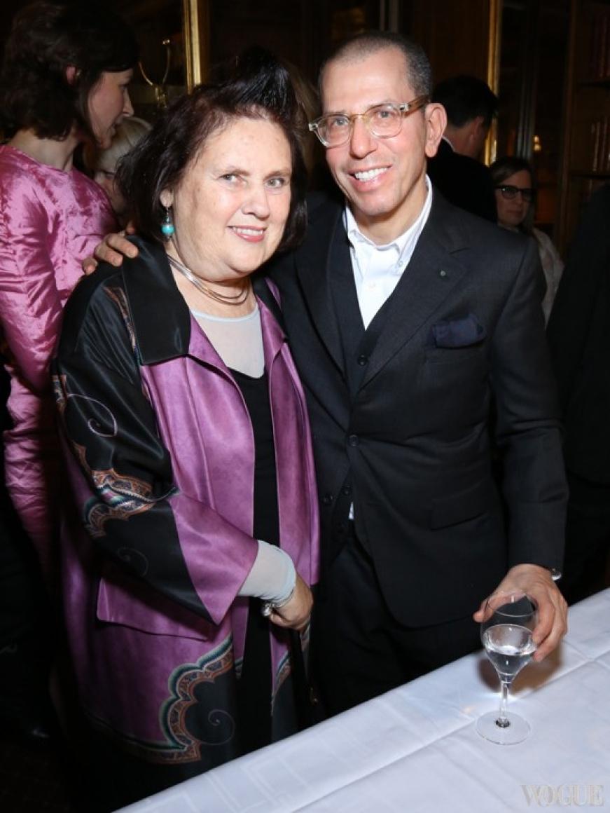 Сьюзи Менкес и Джонатан Ньюхауз