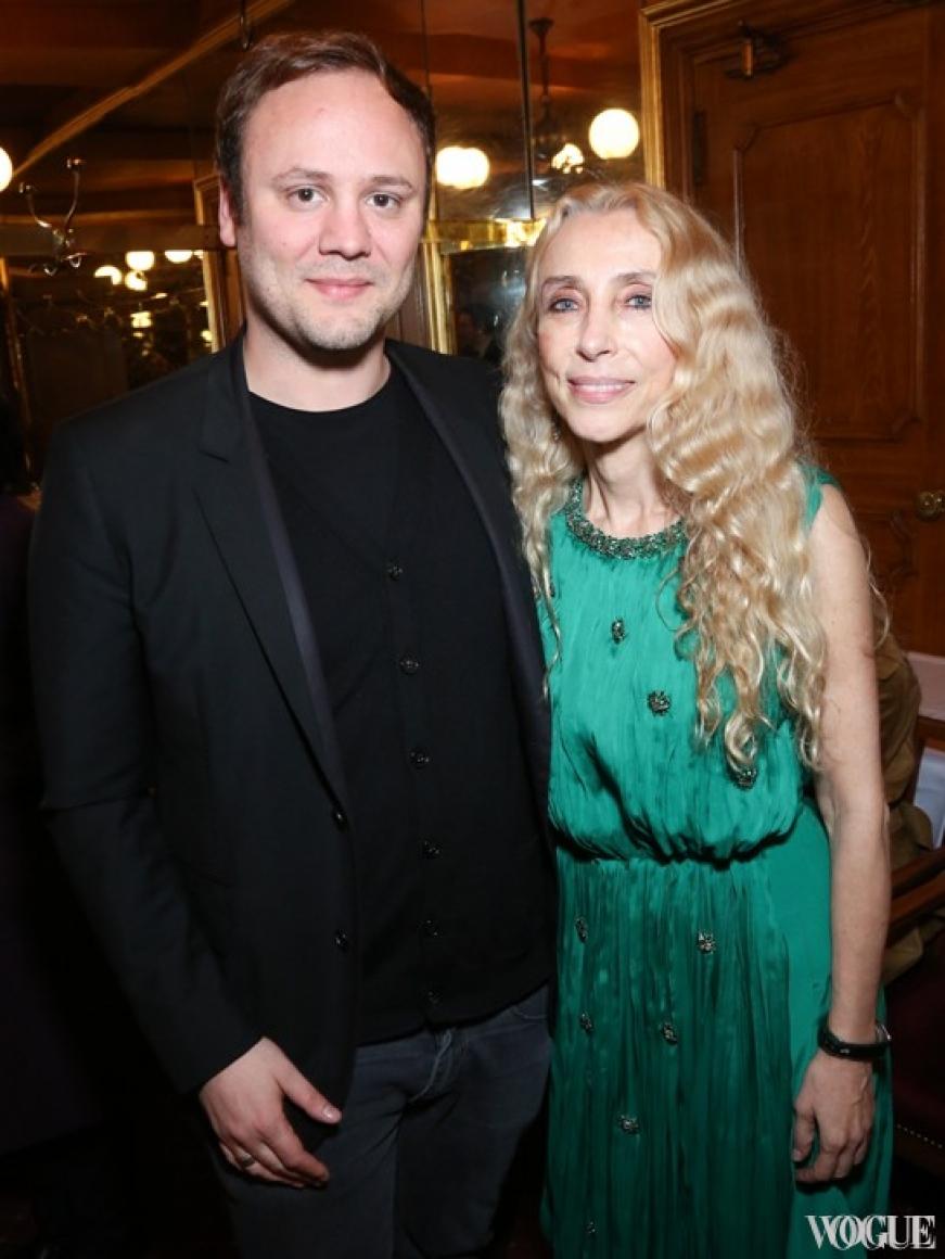 Николас Кирквуд и Франка Соццани
