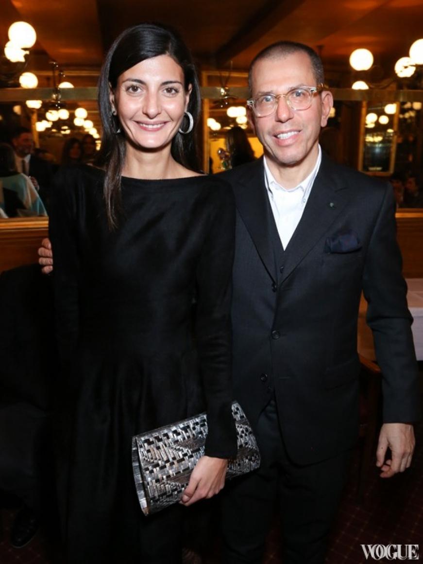 Джованна Баталья и Джонатан Ньюхауз