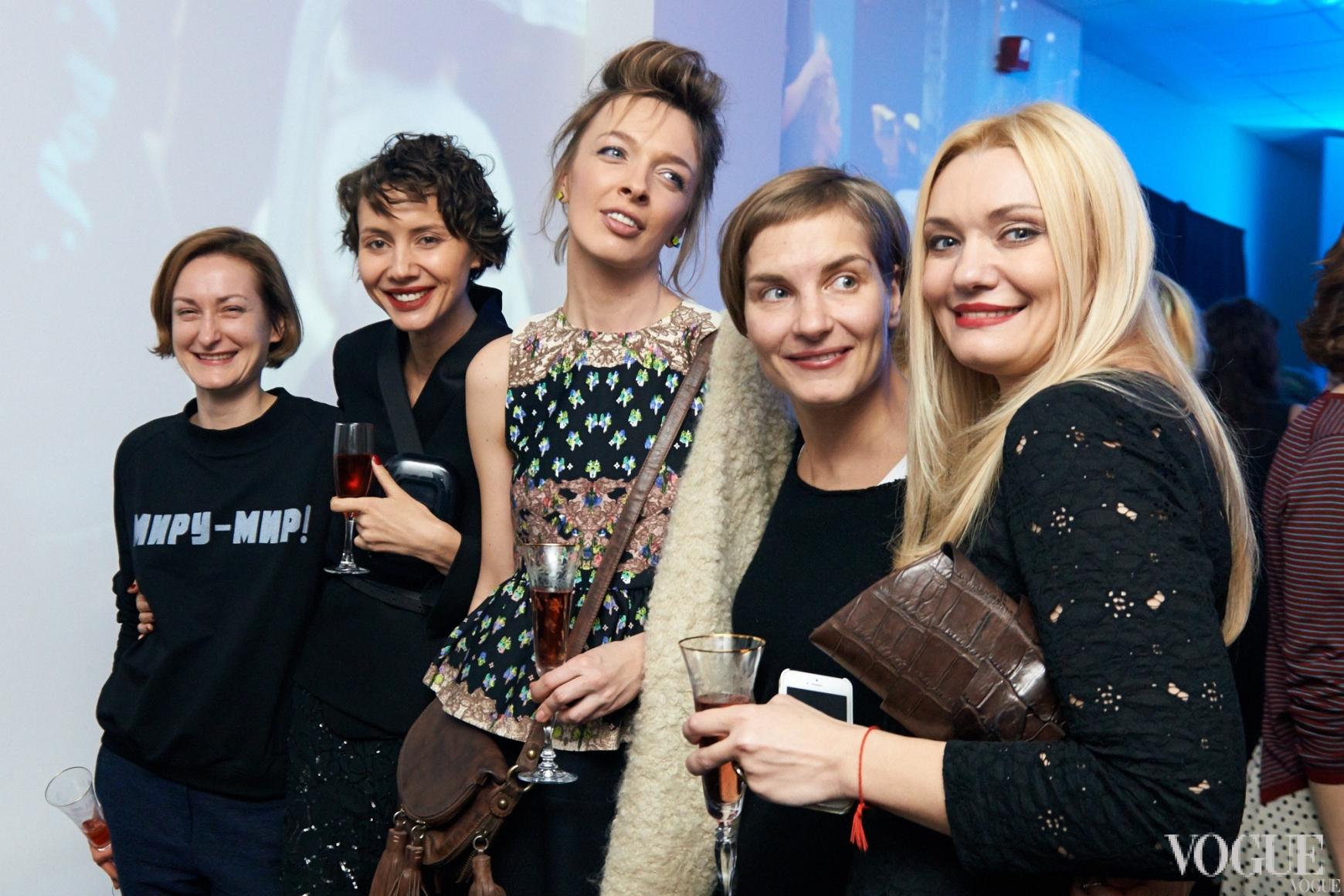Татьяна Соловей, Юлия Пелипас, Василиса Фролова, Надежда Пожарская и Ирина Ковальчук
