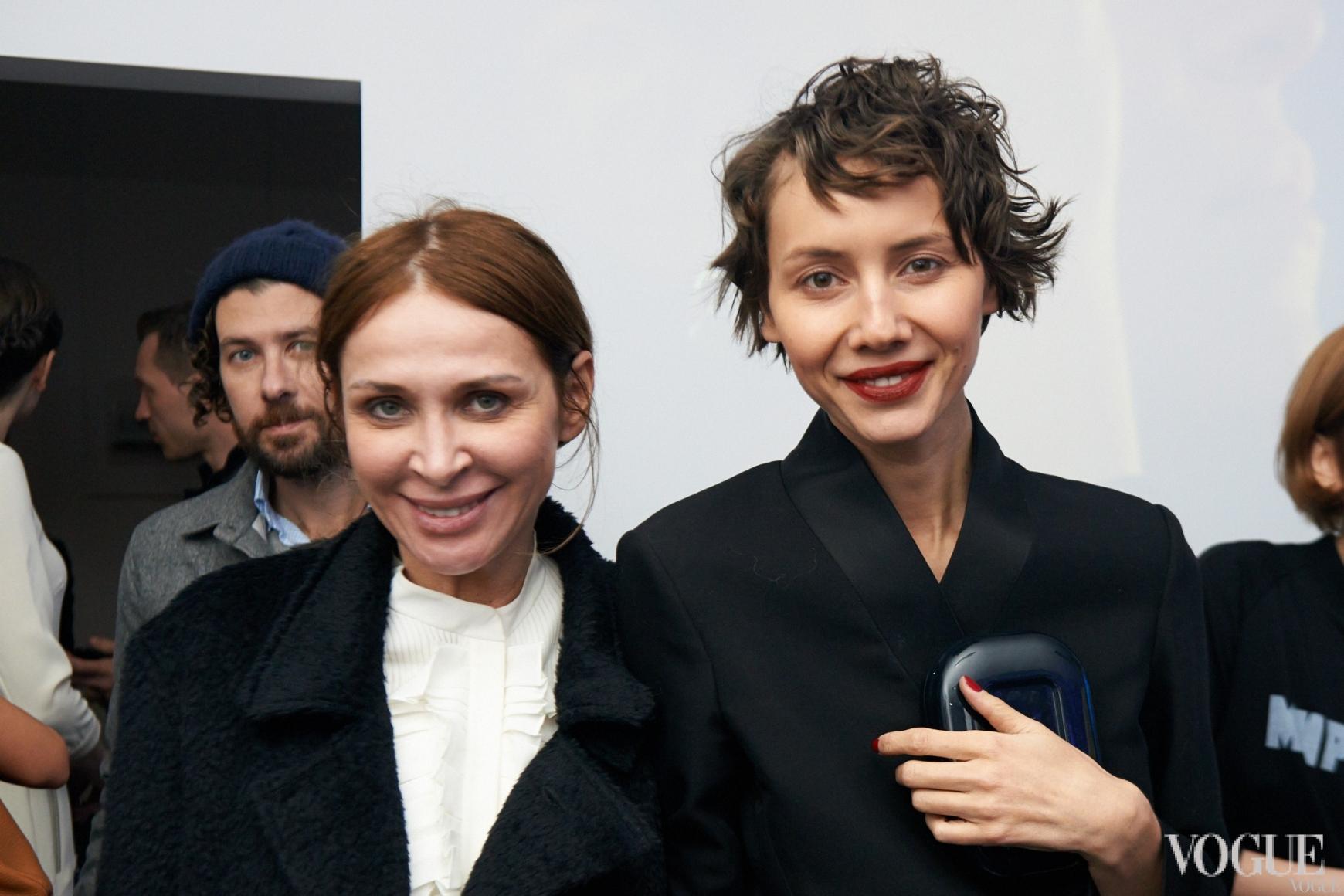 Вита Кин и Юлия Пелипас