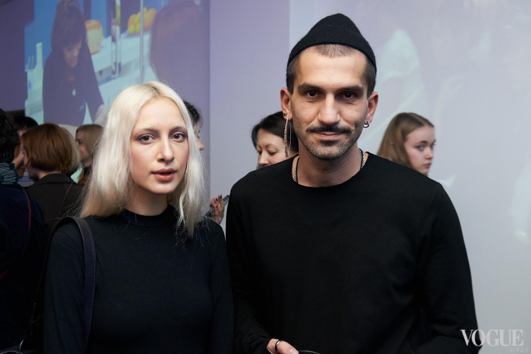 Олимпия Whitemustache и Валерий Топал