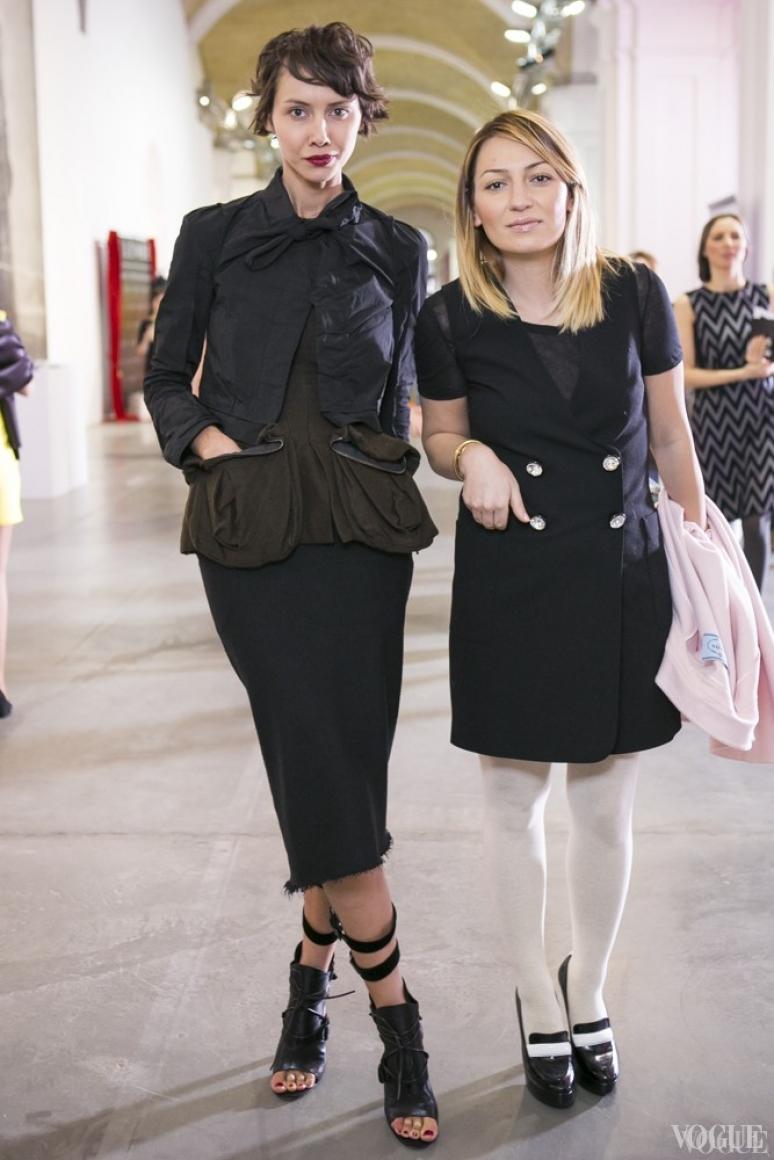 Юлия Пелипас и Ася Мхитарян