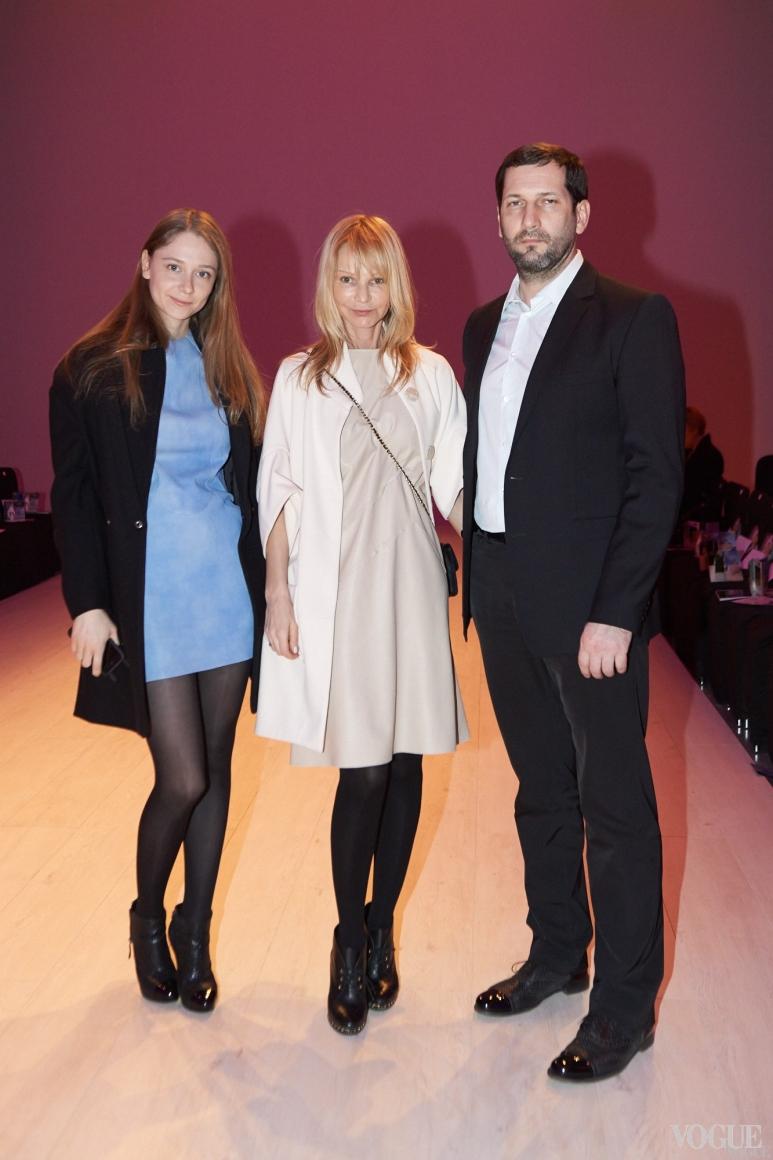 Руслана Мороз и Давид Сария с дочерью