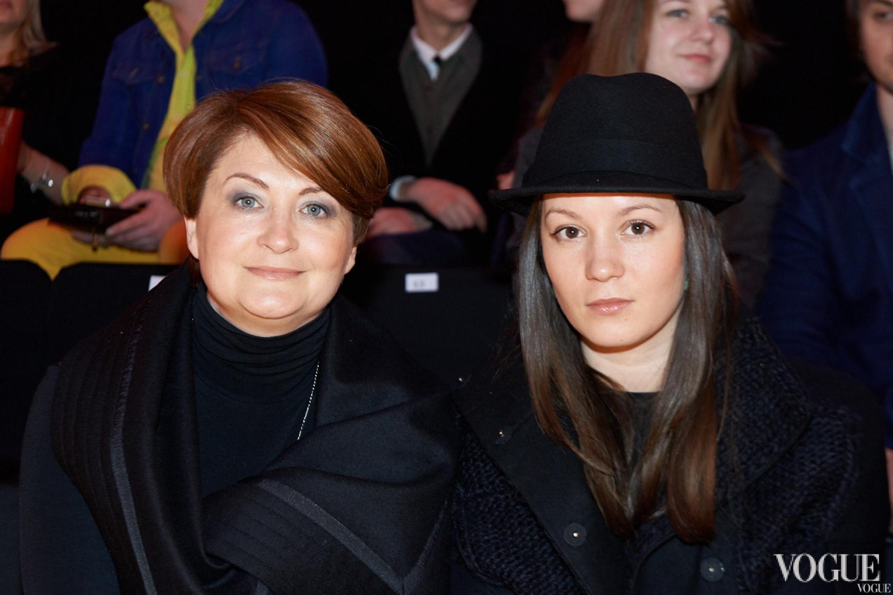 Ирина Данилевская и Ирина Радева