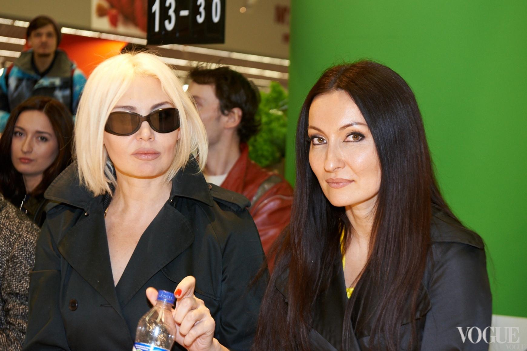 Светлана Вольнова и Марта Холод