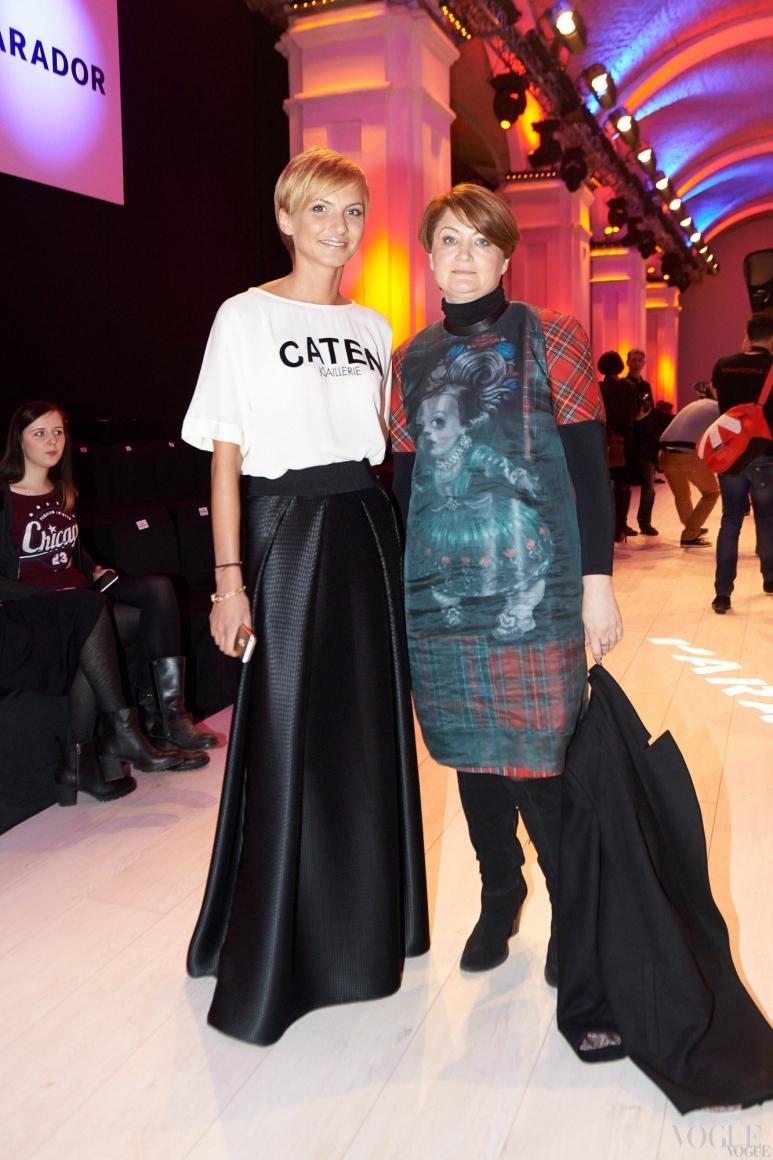 Елизавета Юрушева и Ирина Данилевская