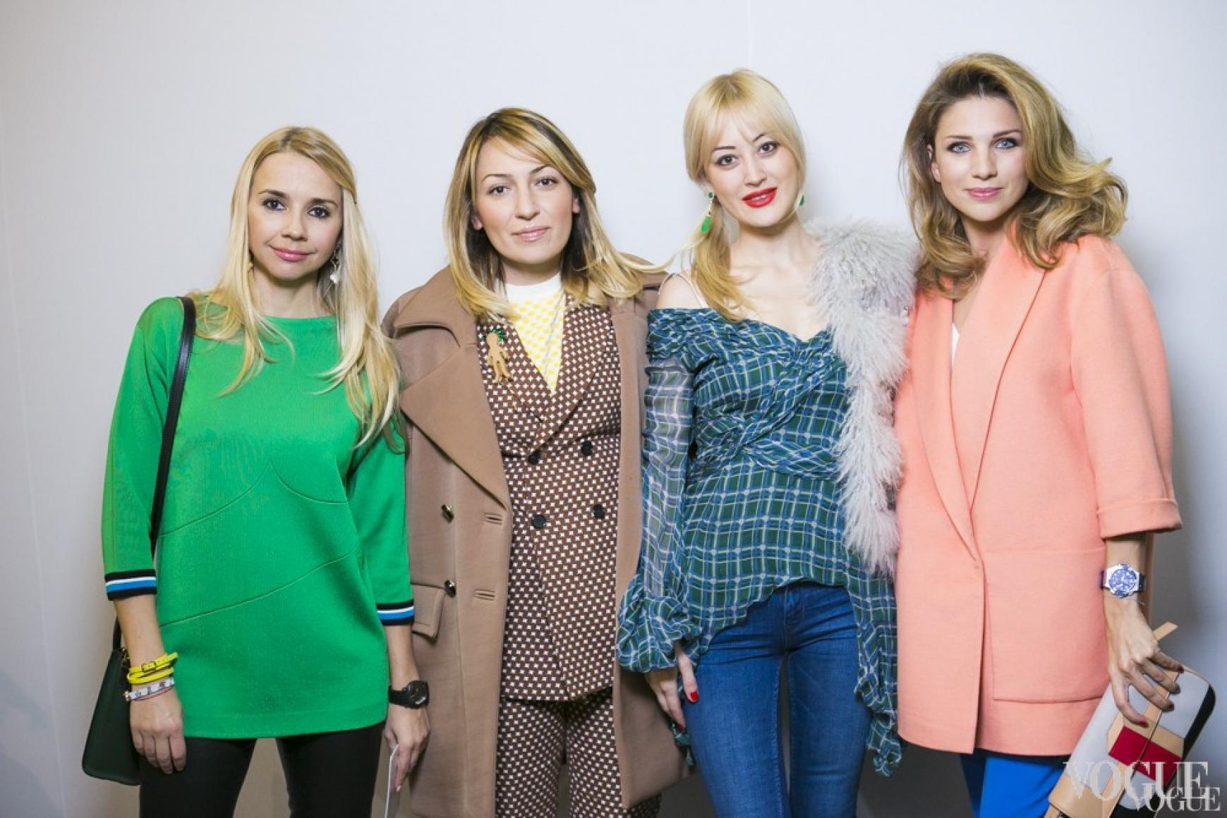 Ирина Турбаевская, Ася Мхитарян, Яна Югай, Екатерина Сильченко