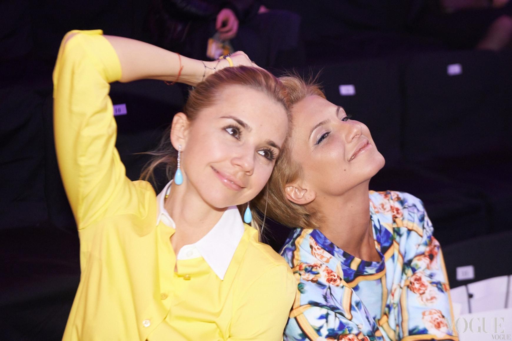Ирина Турбаевская и Елизавета Юрушева