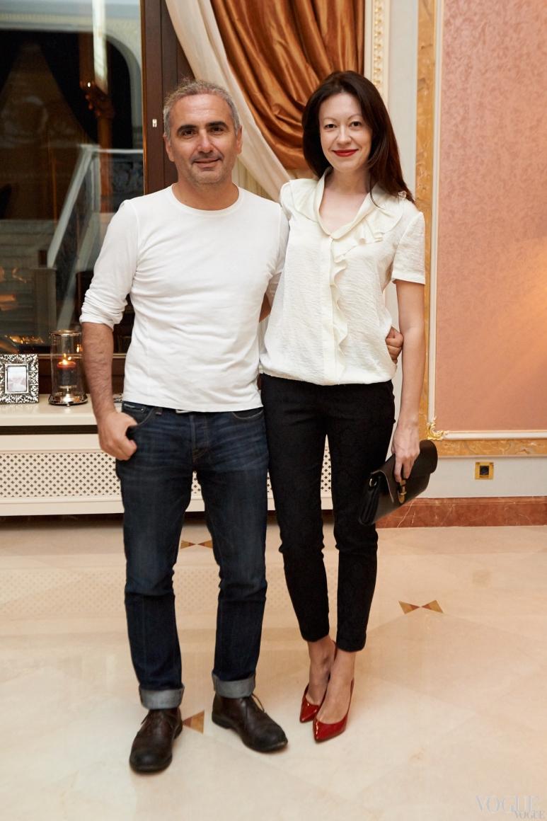 Стас Янкелевский и Ирина Тимофеева