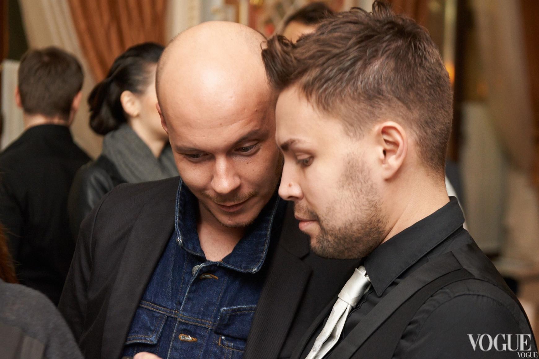 Максим Некрасов и Алексей Прищепа
