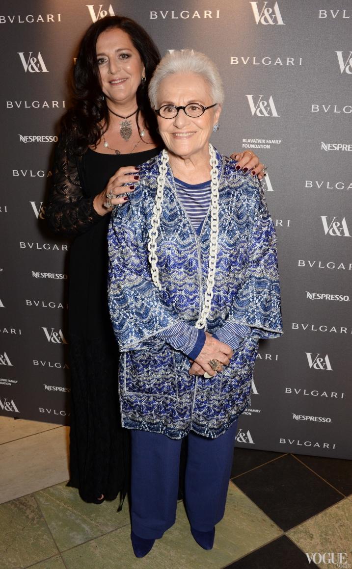 Анжела и Розита Миссони