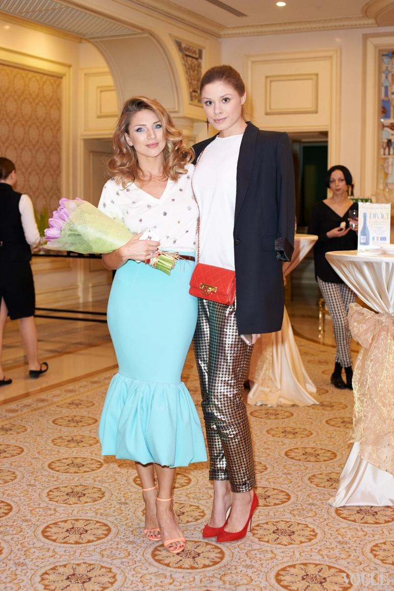 Катя Сильченко и Татьяна Терехова