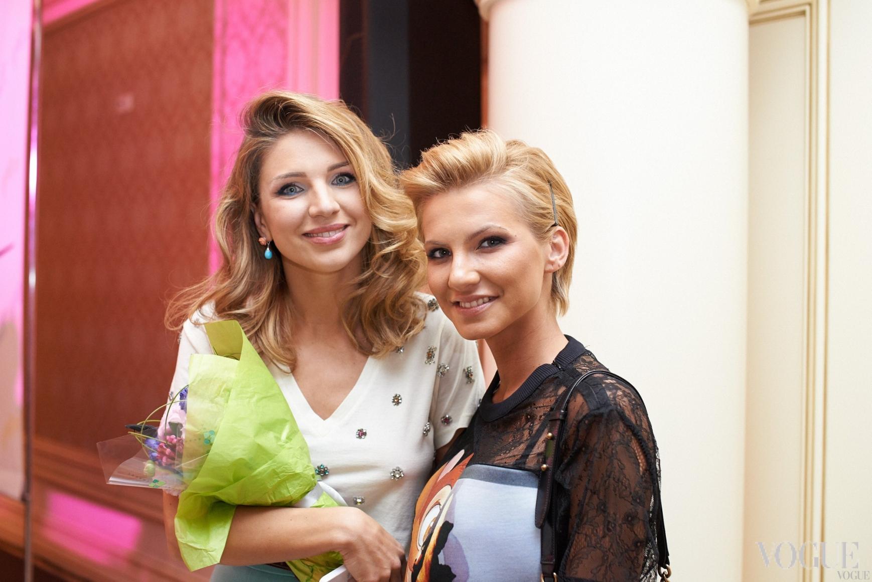 Катя Сильченко и Елизавета Юрушева